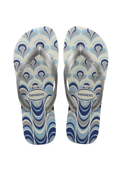 Havaianas spring white/silver/blue